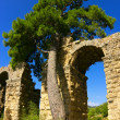 Roman aqueduct in Turkey — Stock Photo