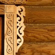 Foto de Stock  : Elements of wood carving
