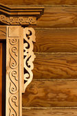 Elements of wood carving — Stock Photo