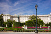 Palacio real de madrid — Foto de Stock