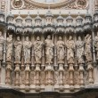 Facade of Santa Maria de Montserrat monastery - Stock Photo