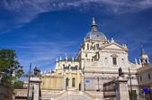 Cathedral church in Madrid — Stock Photo
