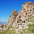 Uchisar in Cappadocia - Stock Photo