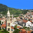 Hvar town in Croatia — Stock Photo