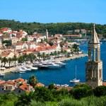 Hvar town in Croatia — Stock Photo #23938159