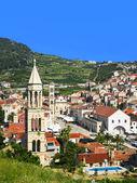 Hvar town in Croatia — Stock Photo