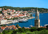Hvar town in Croatia — Foto de Stock
