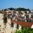 View of Hvar town - Stock Photo