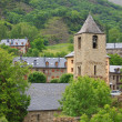 Stock Photo: Romanesque church in Vall de Boi