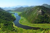 River Crnojevica in Montenegro — Stock Photo