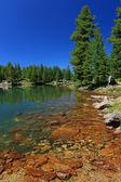 Hridsko lake in Prokletije national park — Stock Photo