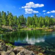 Hridsko lake — Stock Photo