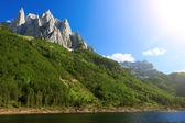 Lake in Prokletije national park — Stock Photo