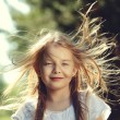Happy little girl — Stock Photo #34812949