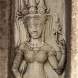 Stock Photo: Stone carvings in Angkor Wat