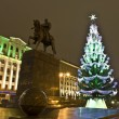 Moscow, Christmas tree — Stock Photo #12449208