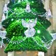 Detail of Christmas tree — Stock Photo