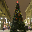 Moscow, Christmas tree — Stock Photo