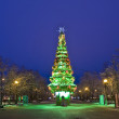 Moscow, Christmas tree — Stock Photo #12699267