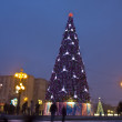 Christmas tree, Moscow — Stock Photo #12699761