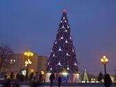 モスクワのクリスマス ツリー — ストック写真