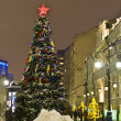 Moscow, Christmas tree — Foto de Stock