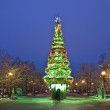 Moscow, Christmas tree — Stock Photo #12836365
