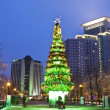 Moscow, Christmas tree — Stock fotografie #13281252