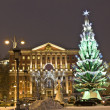 Christmas tree, Moscow — Stock Photo