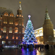 Christmas tree, Moscow — Stock Photo #13340135