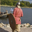 Historical festival, viking — Stock Photo