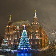 Christmas tree, Moscow — Stock fotografie #13516033