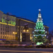Christmas tree, Moscow — Stock fotografie #13605704