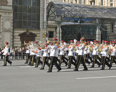 Moscow, international festival of military orchestras — Stock Photo