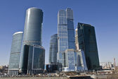 Moscow, skyscrapers — Stock Photo