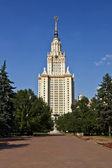 莫斯科大学 — 图库照片