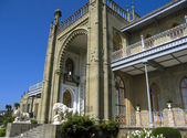 Palazzo vorontcovskiy, crimea — Foto Stock