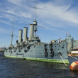 "St. Petersburg, cruiser ""Aurora"" — Stock Photo #14436451"