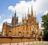 Moscow, catholic cathedral of St. Mary — Stock Photo