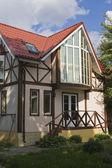 Framework cottage — Stock Photo