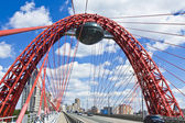 Moscow, Pictorial bridge — Stock Photo