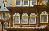 Moscow, Kolomenskoye palace, windows — Stock Photo