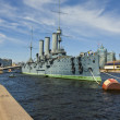 "St. Petersburg, cruiser ""Aurora"" — Stock Photo #15886079"