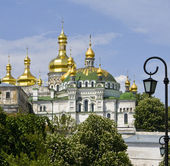 Kiev, monastery Kievo-Pecherskaya lavra — Stock Photo