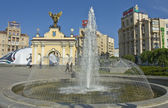 Kiev, square of independence — Stock Photo
