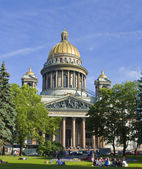 St. Petersburg, cathedral of St. Isaak (Isaakievskiy) — Stock Photo
