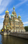 St. Petersburg, cathedral of Jesus Christ on Blood — Stock Photo