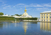 Peterhof, fountains — Stock Photo