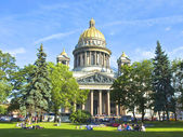 St. Petersburg, cathedral of St. Isaak (Isaakievskiy) — Foto Stock