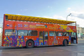 Moscow, city sight-seeing bus — Stock Photo